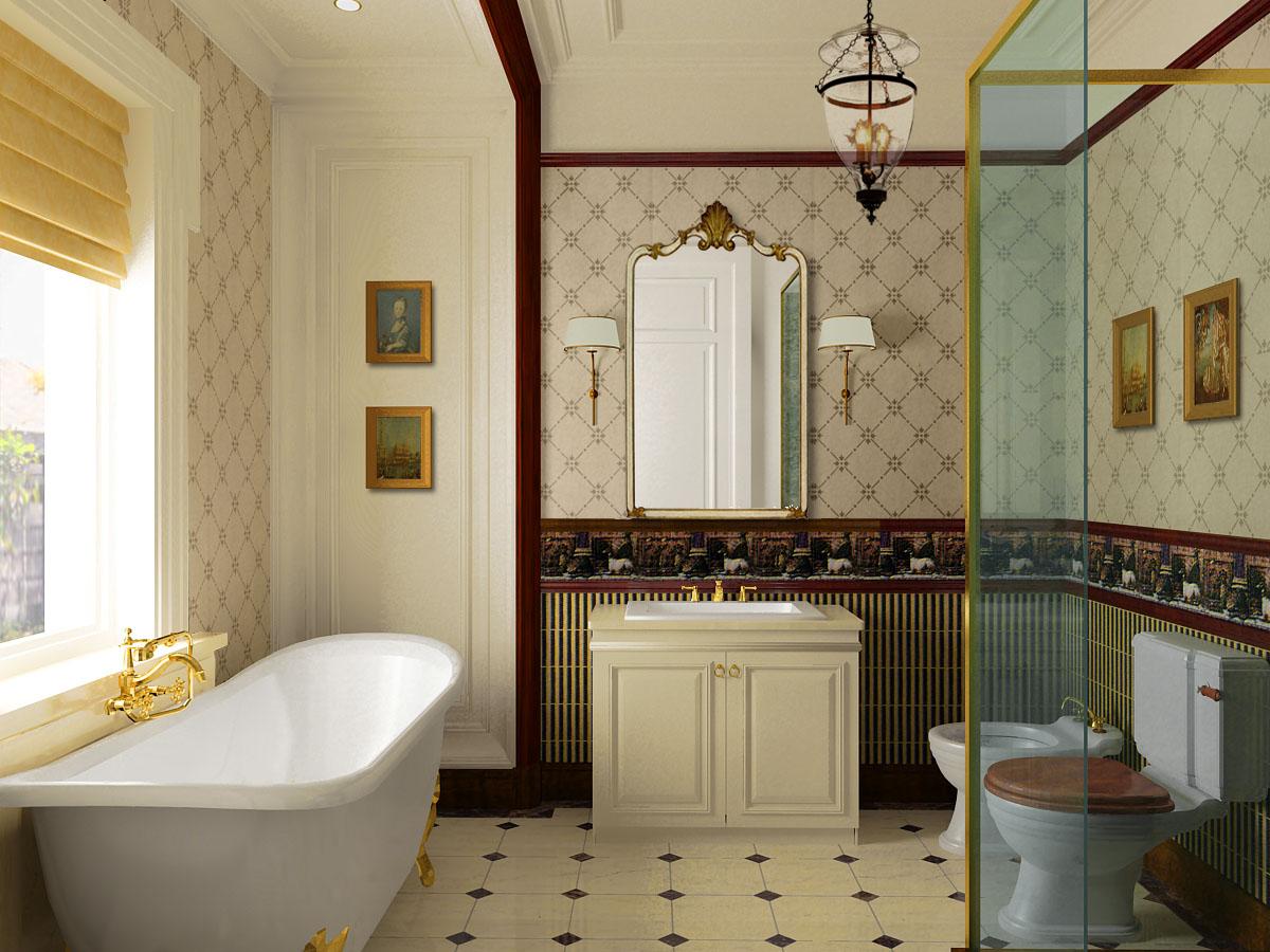 Ванной комнаты классический дизайн